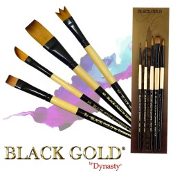 Dynasty Black Gold & Black Steel Brushes are now available!